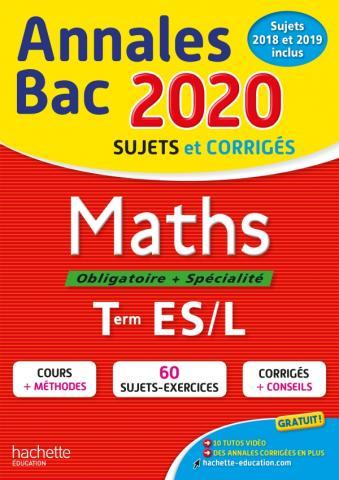 Annales Bac 2020 Maths Term ES