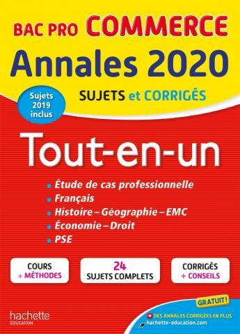 Annales Bac 2020 Tout-En-Un Bac Pro Commerce
