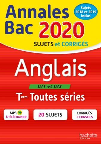 Annales Bac 2020 Anglais Term Toutes Séries