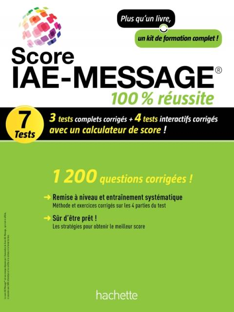 Score IAE-Message