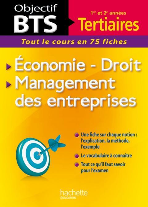 Objectif BTS Économie, Droit, Management des entreprises
