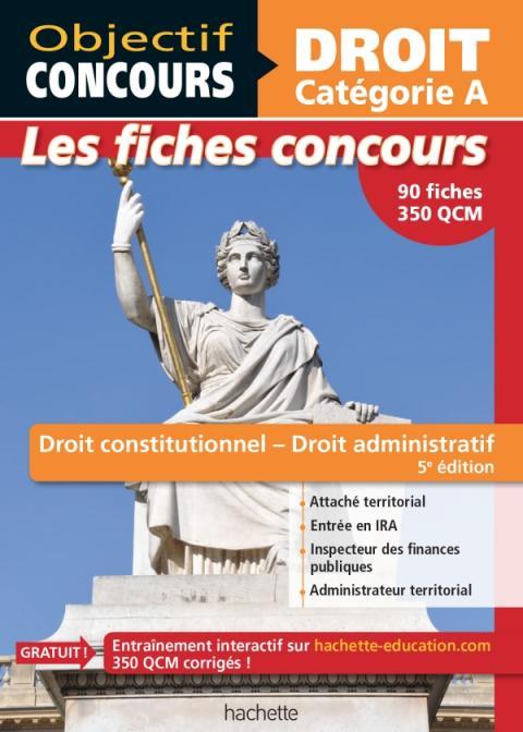 Fiches Droit constitutionnel et droit administratif - Cat A