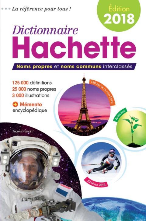 Dictionnaire Hachette 2018