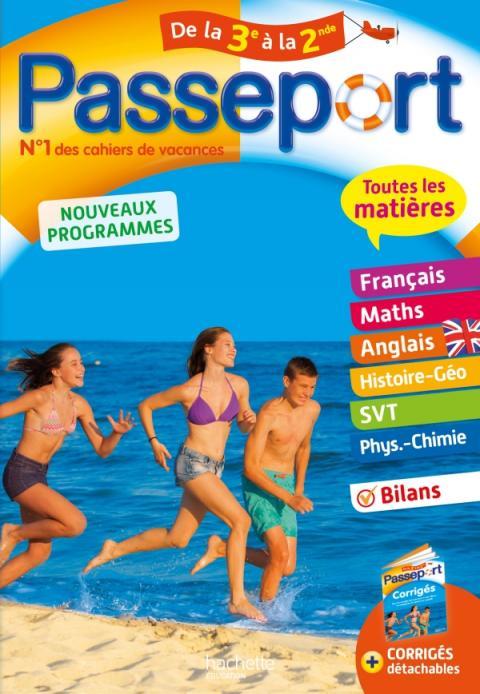 Passeport Cahier de Vacances 2019 - Toutes les matières de la 3e à la 2de