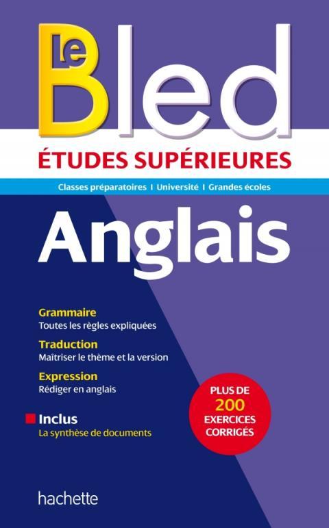Bled supérieur - Anglais