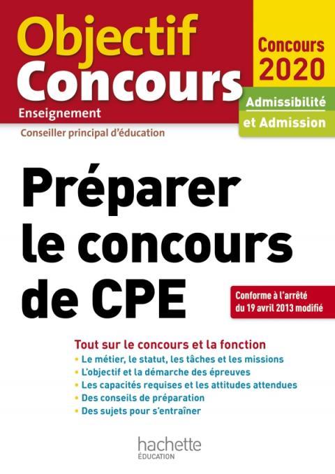 Préparer Le Concours De CPE 2020