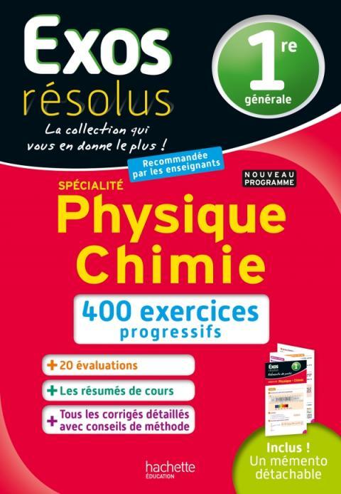 Exos Résolus SPECIALITE Physique-Chimie 1re