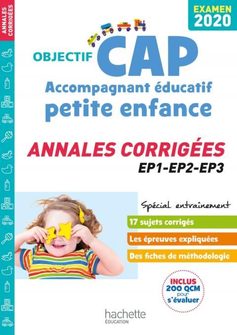 Annales Examen 2020 CAP Accompagnant Éducatif Petite Enfance