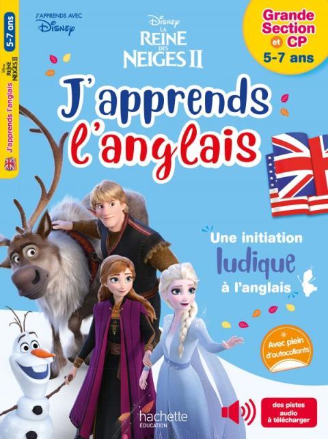 Disney - J'apprends l'anglais avec la Reine des neiges 5-7 ans+CP