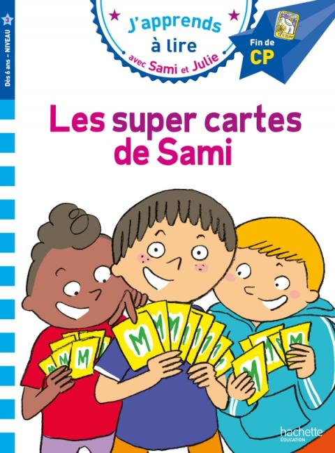 Sami et Julie CP niveau 3 - Les super cartes de Sami